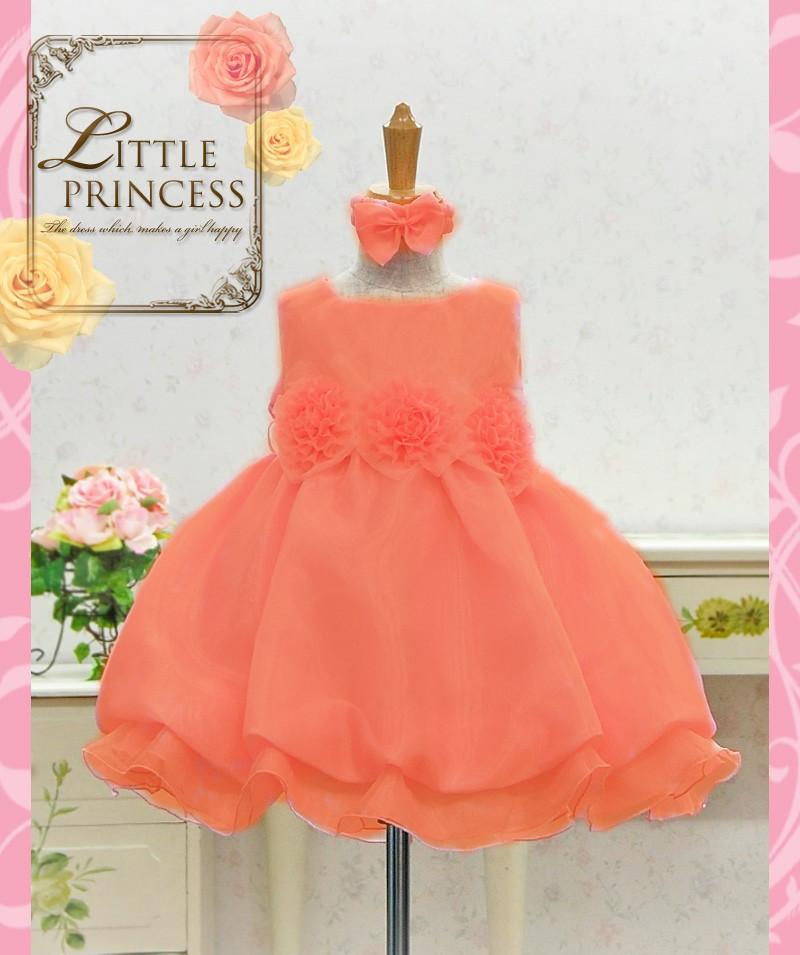 Orange Baby Dress Images