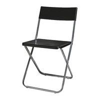 1 piece steel+plastic folding dining chair