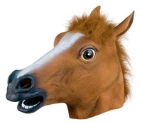 Europe & U.S the horsehead mask animal heads horses mask horse natural environmental protection of emulsion