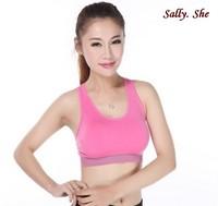 2014 new arrvial sport bra double soft bra spring summer sport necessary brand bra yoga sets bra