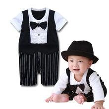 Italian Designer Baby Clothes Gentleman style baby summer