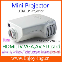 Charming led mini projector with tv tuner leading in advanced technolog for producing + most favourable price
