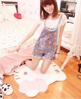 Free Shipping Hot Selling hello kitty carpet mats HELLO KITTY bedroom carpet door mats 1 piece /Lot