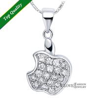 Колье-цепь Ulove 2015 925 Diamond Pingente JS1691 crystal pendant