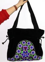 Embroidered women's bag messenger bag national embroidery Handbags