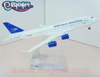 - 400 wheel 16cm alloy metal model plane toy