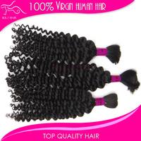 12inch-28inch Mix length 3pcs remy deep wave hair no weft unprocessed virgin curly bulk indian human hair bundles