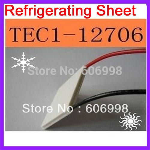 5pcs lot TEC1 12706 Semiconductor Refrigerating Sheet Refrigeration CPU Dispenser