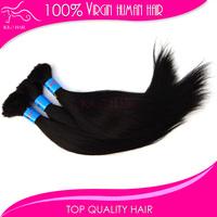 Free shipping 3pcs virgin indian remi hair bulk braiding extensions natural indian straight hair bulk 12inch-28inch