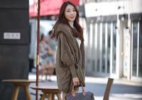 Dvl2013 batwing sleeve loose plus size casual outerwear elizabethans cardigan sweater female