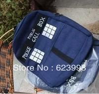 2014 new style Doctor Who Tardis print single shoulder backpacks schoolbag bag funny novelty gift for men women cartoon bags