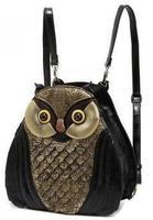 Free Shipping Owl Bag Fashion Owl Shaped Design Ladies' Handbag Owl bag for School