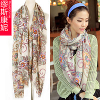 2013 autumn and winter new paris vintage bohemia scarf