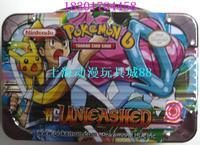 Pokemon cards pokemon - portable tin game card