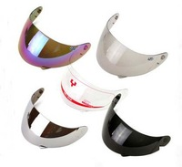 2014 new free shipping YOHE helmet lens 990/991/993 / transparent color Silver Black Lens