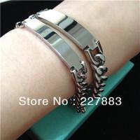 Free Shipping Mens/Womens bracelets & bangles Stainless Steel Love Bangle for Lovers