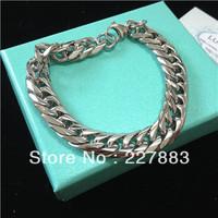 6 pcs / lot Free shipping Fashion stainless steel lovers bracele bangle, stainless steel bracelet,lover gift