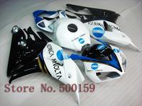 For Honda CBR1000RR 2006 2007 white blue black  06 07 CBR1000RR CBR 1000 06 07 Injection Mold Fairing Set Plastic Kit 26