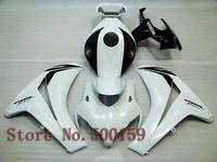 For Honda CBR1000RR 2008 2011 white   CBR 1000 RR 08 11 09 10 CBR 1000RR 08 11 Plastic ABS fairing Kit 10