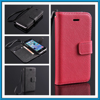 Fashion Leather Flip Case For iPhone 5C iPhone5C Wallet Case Cover For i Phone 5C