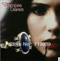 (can mix size)Hot wholesale 20pcs/lot New style Vampire diaries Elena Sun proof ring women jewelry silver charm promotion 2014