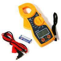 AC/DC Digital Clamp Electronic Tester Meter Tool Multimeter Voltmeter Clamp Meter Free Shipping#L01554