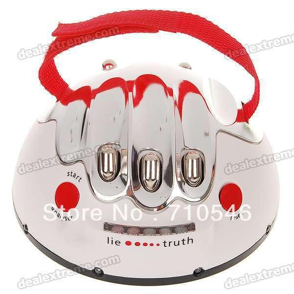 Shocking Liar Electric Shock Lie Detector Truth Game(China (Mainland))