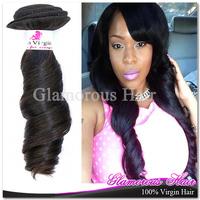 Fumi Curly Virgin Brazilian Hair Extension Natural Color 1B 3 Bundles Free Shipping