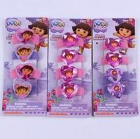 kids Baby  accessories children Girls jewelry  headwear cute Dora / Princess  Elastic Head bands Hair accessory 3 Style PAH-3063
