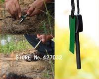 Survival Flint,Magnesium Striker,Fire Starter Stick Rod(large size)-200pcs/lot