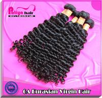 Mixed length virgin eurasian hair deep wave grade 6a 3pcs/lot human hair 7 days returns guarantee with 20% off shipping free