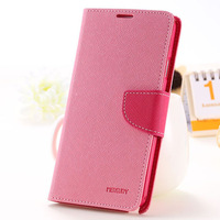 Chic Mercury Series Color Button Case for Samsung Galaxy Note 3 N9000 Wallet Stand Function Leather Mobile Phone Bags RCD03755