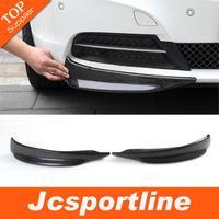 2009-2013 E89 Z4 Real Carbon Fiber Car Aprons ,Front Bumper Splitter Flap Cupwings For BMW (Fits 09-13 Z4 E89 )