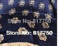 160*50cm spring 2014 charming designer classic flower silk scarf women scarf fashion scarf C003 min order=5usd
