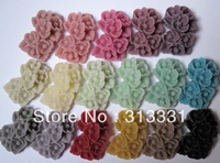 wholesale mixed color fashion resin flower cabochons