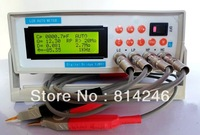 Free shipping,0.3% precision digital LCR meter bridge tester, resistance capacitance inductance meter