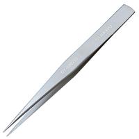 Tool instruments of high precision stainless steel tweezers Tweezers 125mm magnetic matt acid,Free shipping