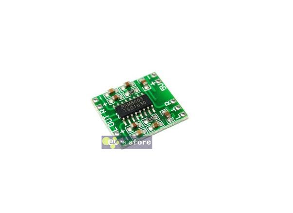 30pcs/lot PAM8403 Super mini digital amplifier board 2 * 3W Class D digital amplifier board efficient 2.5 to 5V USB power supply(China (Mainland))