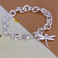2014 Hot sale H282  Wholesale 925 silver bracelet, 925 silver fashion jewelry  charm bracelet  best gift