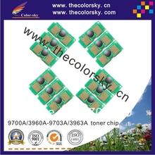 (CZ-UH2500B) laser printer toner reset chip for HP Color LaserJet 1500 2500 2550 2820 2840 9700 – 9703 3960 -3963 kcmy freedhl