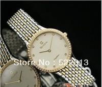 Bestdon Men elegant quartz watch Diamond circle lovers stainless steel watches  9948G