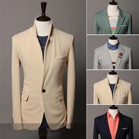New Brand fashion 2014 blazer men,slim casual  floral men suit /jacket  men 3 Colors M L XL XXL Wholesale&Retail Drop shiping
