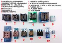 13 pcs Universal adapters kits for programmer TL866A TL866cs ezp2010 top3000 adapter