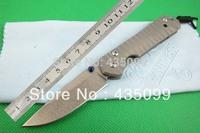 Chris Reeve Knife Sebenza 21 D2 Steel Folding Knife Pocket Knife Titanium Alloy Handle Utility Knife FREE SHIPPING