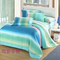 Textile 40 tencel piece set piece bedding set quality bed sheet four piece bedding set