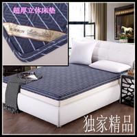 Full cotton 100% three-dimensional mattress 1.5 1.8 meters fiber core mattress soft dual-use multi-purpose simmons double