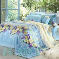 Textile at home 40 piece tencel bedding set slanting activated stripe print kit bed sheets