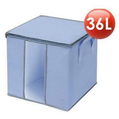 36L Large capacity Clothes Groceries Home Shelves Arrange Fold Sack Free Shipping 2014 New Multifunction Zip Factory Direct Hot(China (Mainland))
