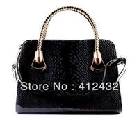 2014 new fashion high quality handbags grid shoulder bag  handbag messenger bag handbag work free shipping  in women