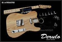 DIY  Electric Guitar Kit  Bolt-On Solid American Ash Body   MX-777
